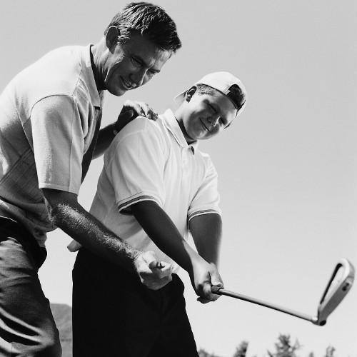Golfing Innovations Had Site Navigation Based on Areas of Improvement.